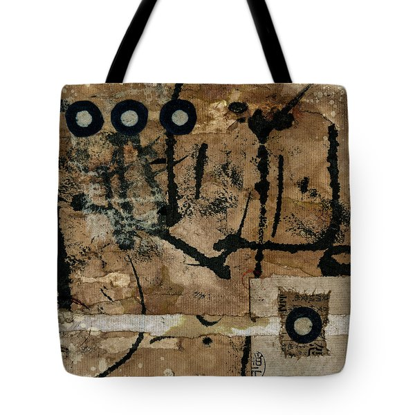 Rounding Square Collage Tote Bag