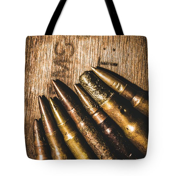 Rounds Of Historic Battle Tote Bag