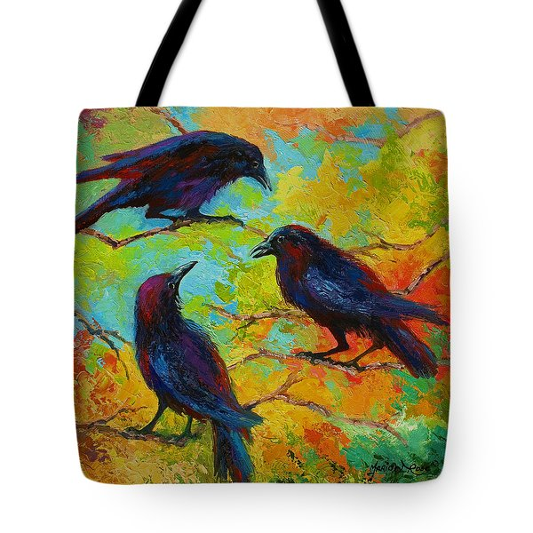 Roundtable Discussion - Crows Tote Bag