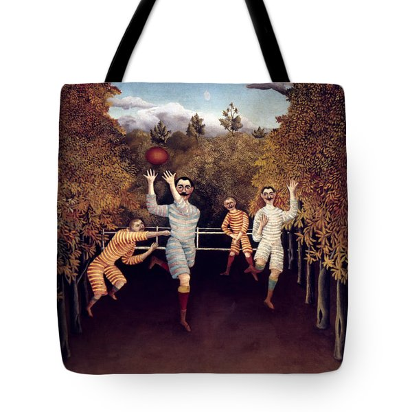 Rousseau: Football, 1908 Tote Bag by Granger