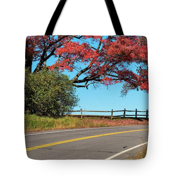 Route 5 Color Tote Bag
