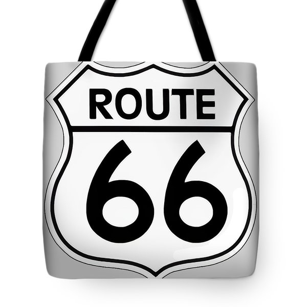 Route 66 Sign Tote Bag