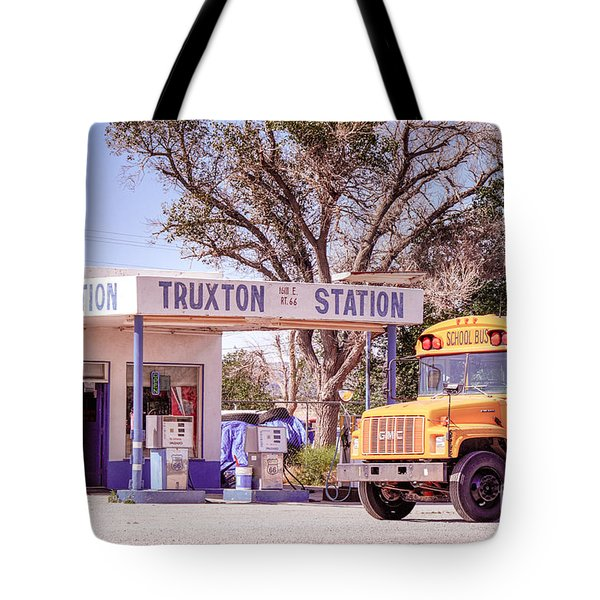 Tote Bag featuring the photograph Route 66 Impression by Juergen Klust