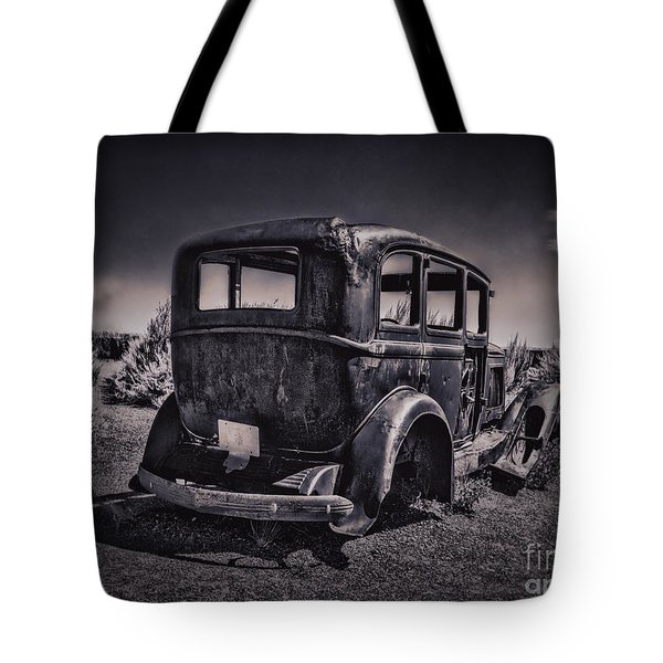 Route 66 Remembered  ... Tote Bag by Chuck Caramella