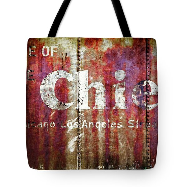 Route Of The Chief Tote Bag