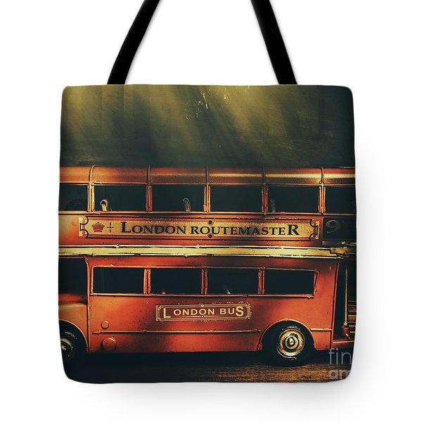 Routemaster Bus Station Tote Bag