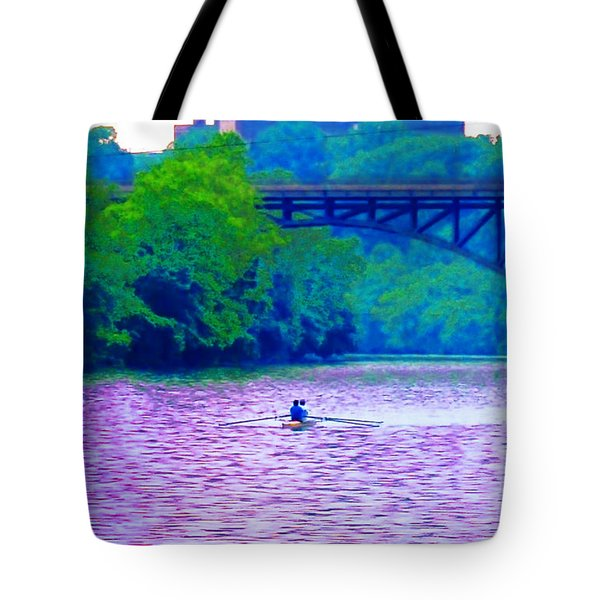 Row Row Row Your Boat Tote Bag by Bill Cannon