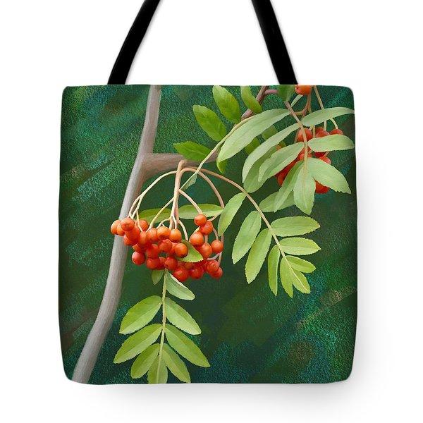 Rowan Tree Tote Bag