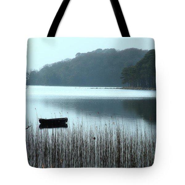 Rowboat On Muckross Lake Tote Bag