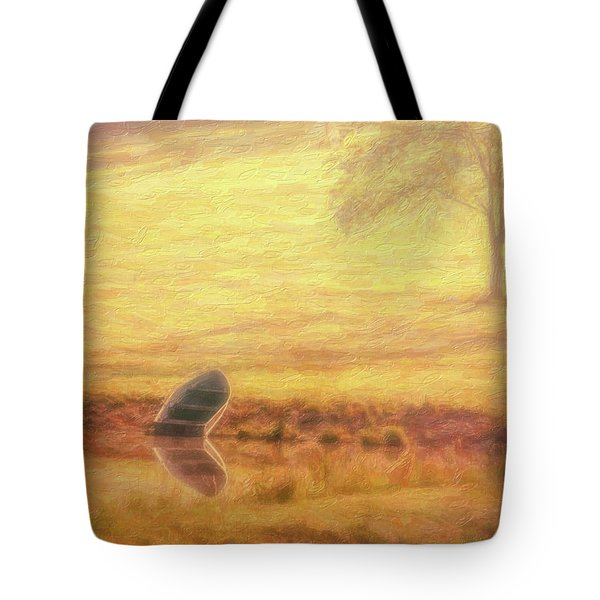 Tote Bag featuring the photograph Rowboat by Tom Mc Nemar