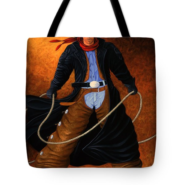 Rowdy Tote Bag by Lance Headlee