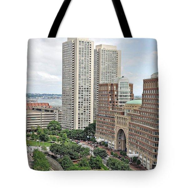 Rowes Wharf Tote Bag