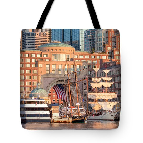 Rowes Wharf Tote Bag by Susan Cole Kelly