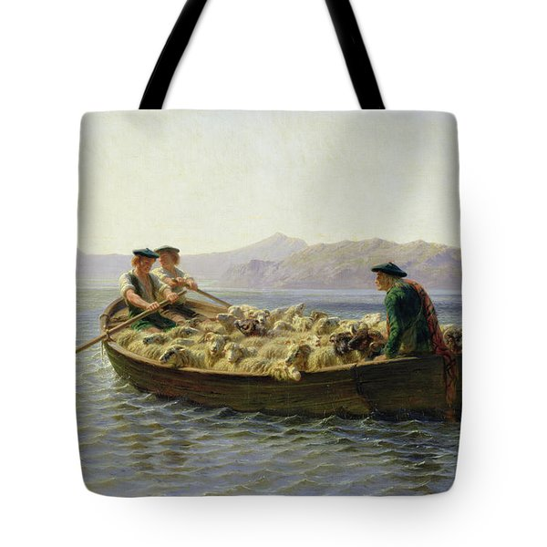 Rowing Boat Tote Bag by Rosa Bonheur