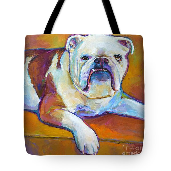 Tote Bag featuring the painting Roxi by Robert Phelps