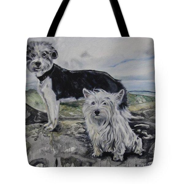 Roxie And Skye Tote Bag