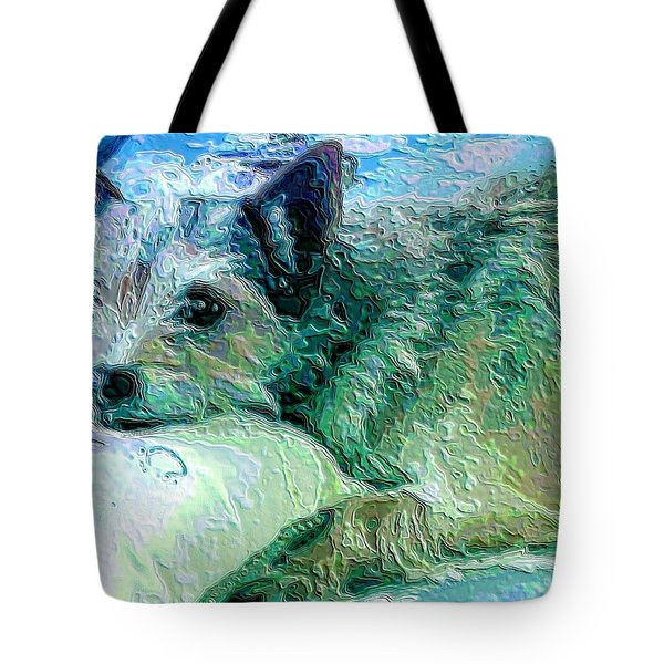 Roxy Tote Bag by Vickie G Buccini