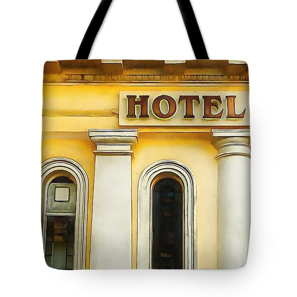 Royal Albion Hotel Brighton Tote Bag