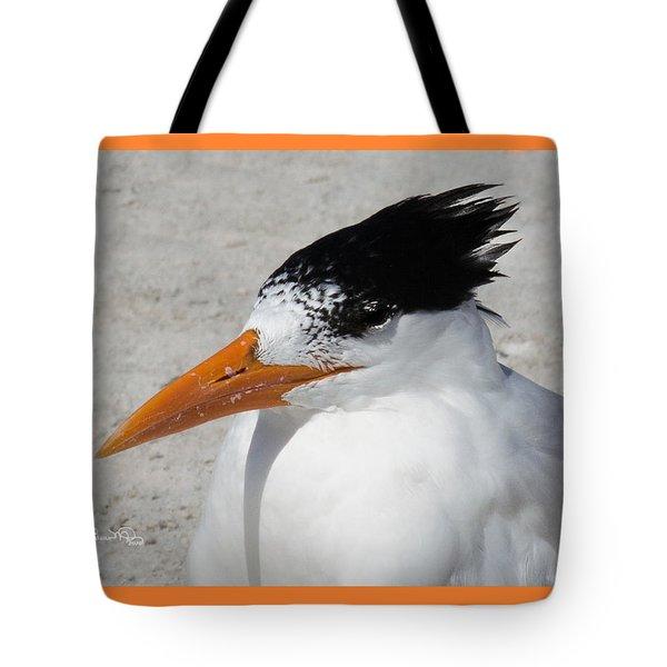 Royal Bad Hair Day Tote Bag