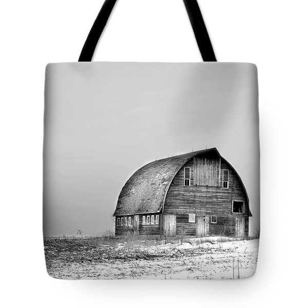 Royal Barn Bw Tote Bag by Bonfire Photography