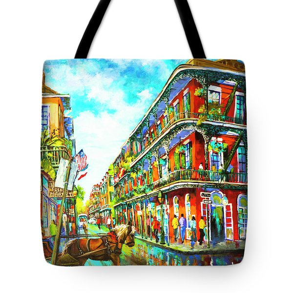 Royal Carriage - New Orleans French Quarter Tote Bag