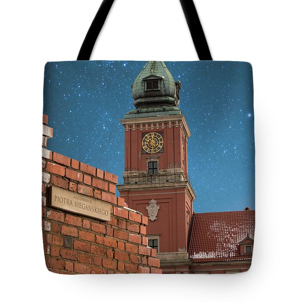 Royal Castle And City Wall Tote Bag