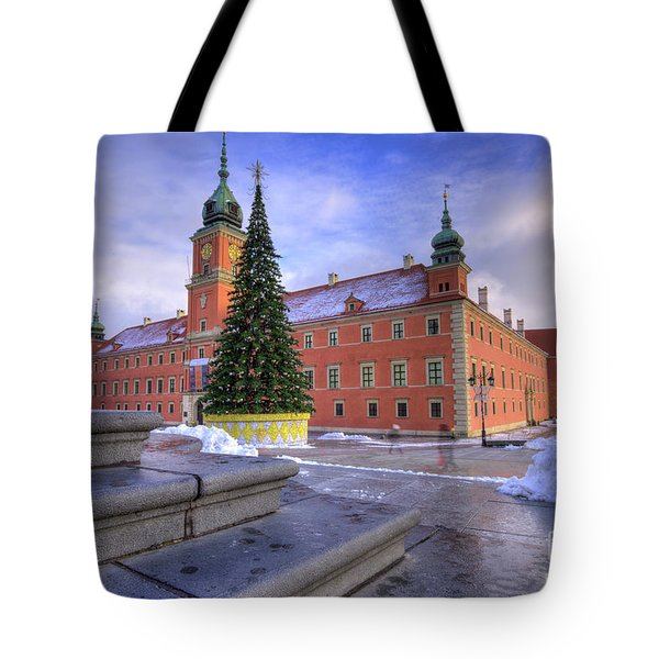 Tote Bag featuring the photograph Royal Castle by Juli Scalzi
