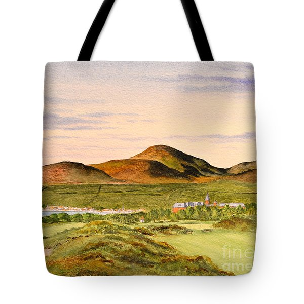 Royal County Down Golf Course Tote Bag