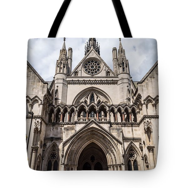 Royal Courts Of Justice In London Tote Bag