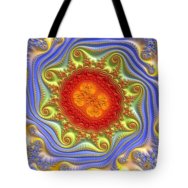Royal Crown Jewels Tote Bag by Kevin Caudill
