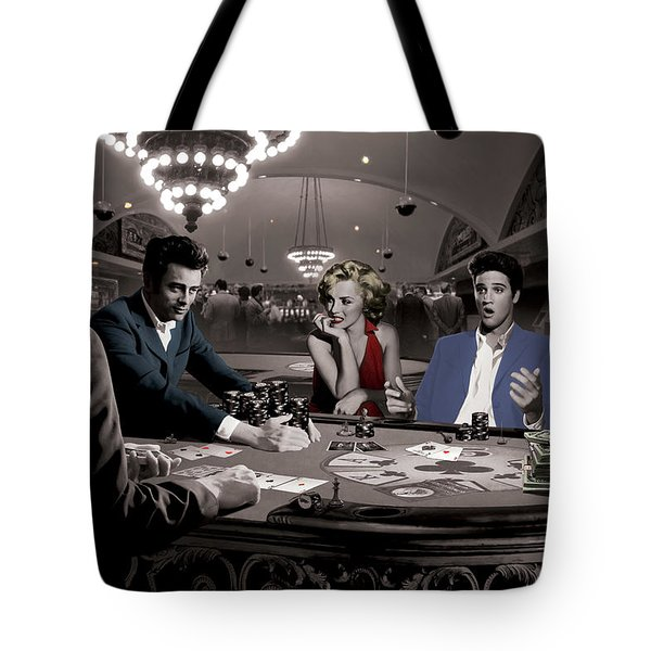 Royal Flush Tote Bag by Chris Consani