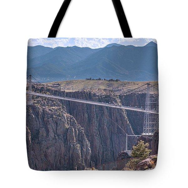 Royal Gorge Bridge Colorado Tote Bag by James BO Insogna