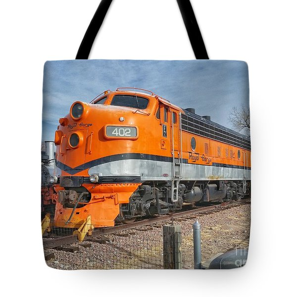 Royal Gorge Route 402 Tote Bag