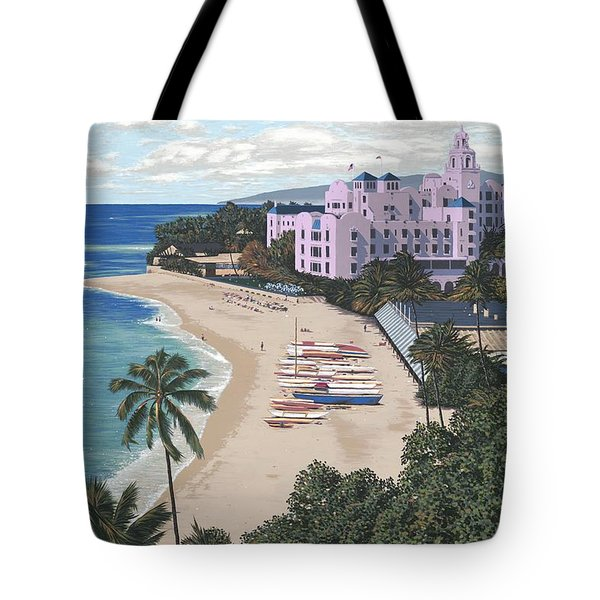 Royal Hawaiian Tote Bag