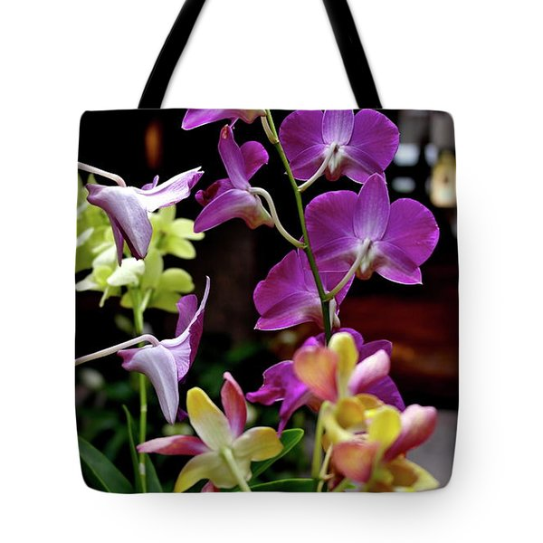 Tote Bag featuring the photograph Royal Hawaiian Orchids by Michele Myers