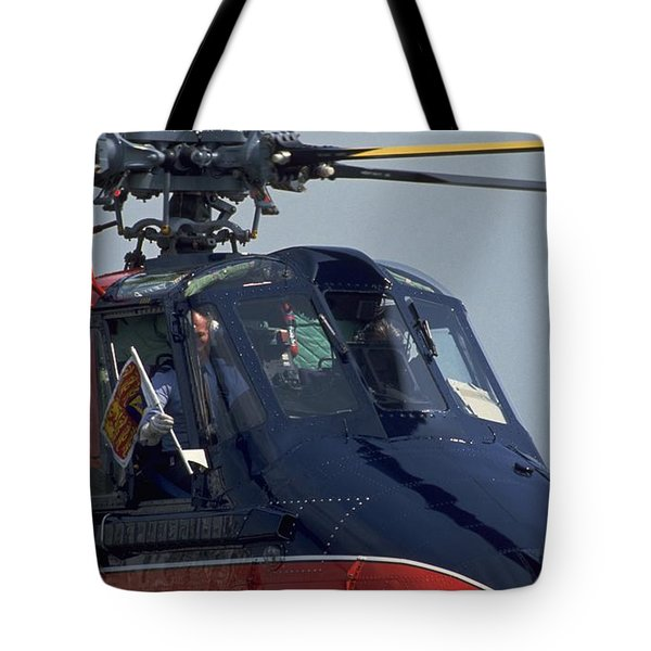Royal Helicopter Tote Bag