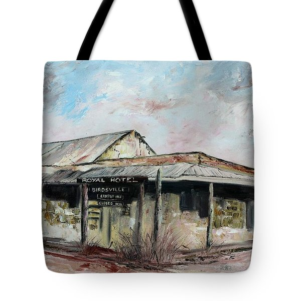 Royal Hotel, Birdsville Tote Bag