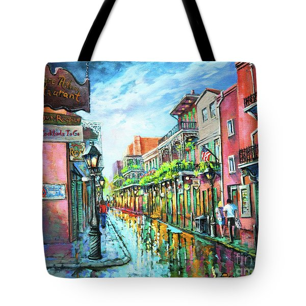 Royal Lights Tote Bag