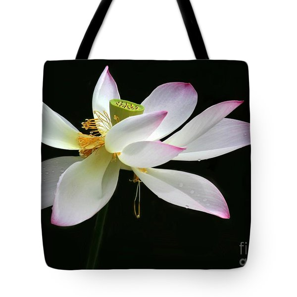 Royal Lotus Tote Bag