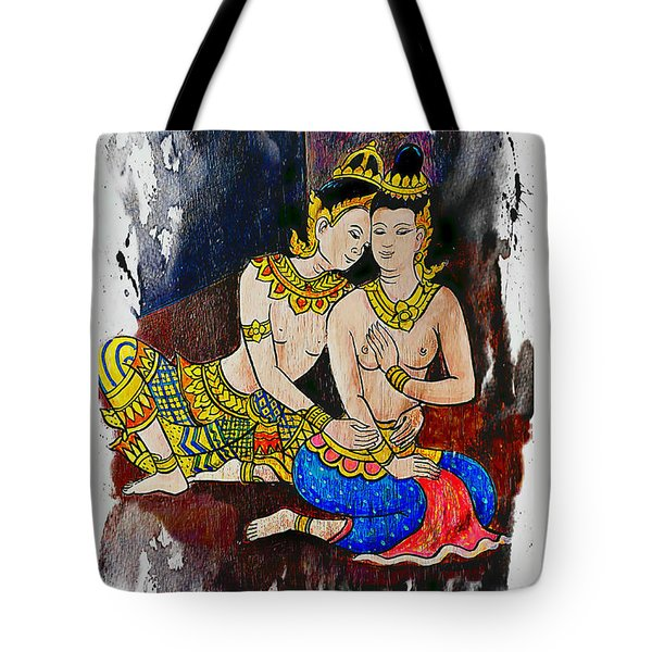Royal Lovers Of Siam  Tote Bag by Ian Gledhill