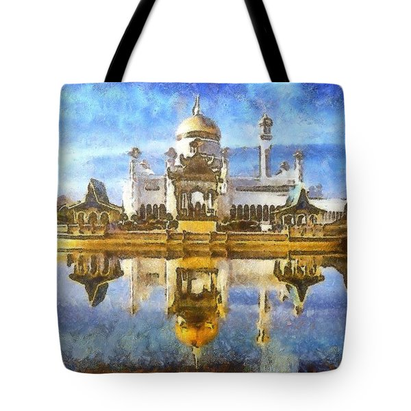 Royal Mosque  Tote Bag