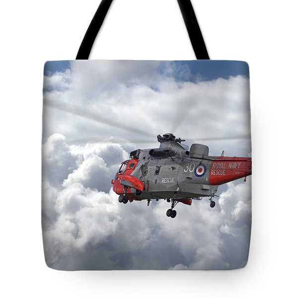 Tote Bag featuring the photograph Royal Navy - Sea King by Pat Speirs