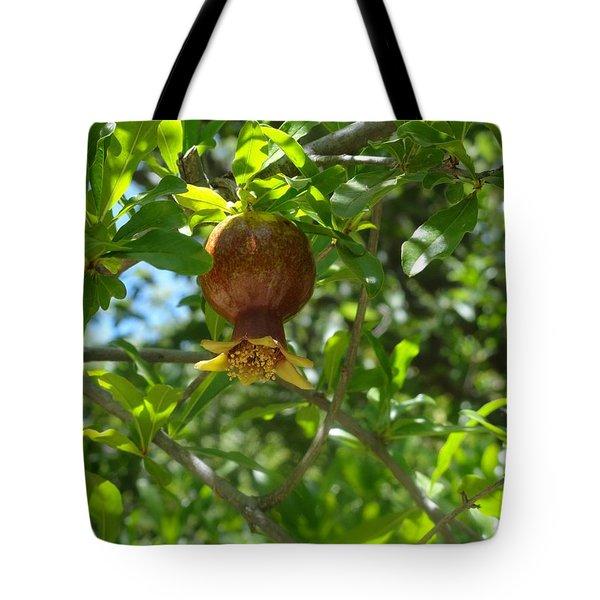 Royal Onion Pomegranate Tote Bag
