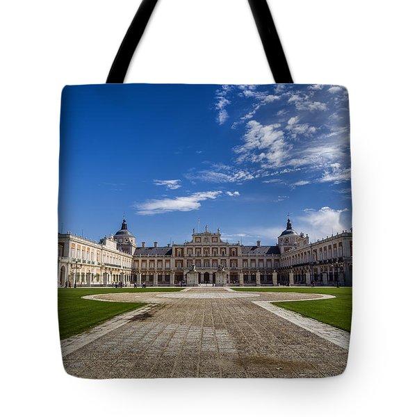 Royal Palace Of Aranjuez Tote Bag