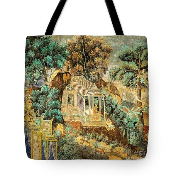 Royal Palace Ramayana 12 Tote Bag
