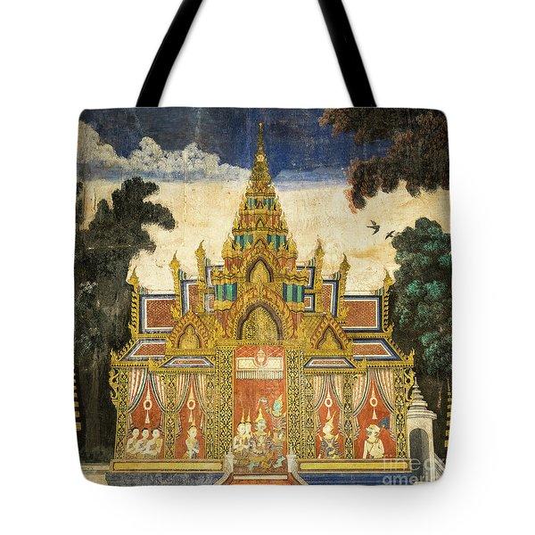 Royal Palace Ramayana 17 Tote Bag