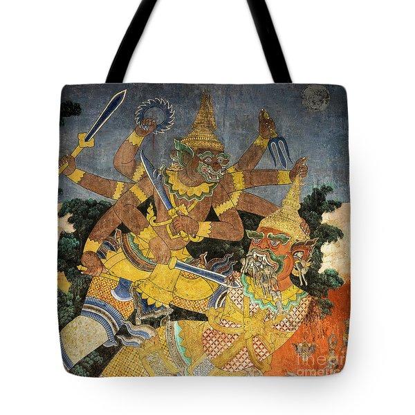 Royal Palace Ramayana 22 Tote Bag