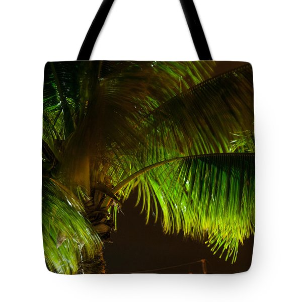 Royal Palm Night Out Tote Bag