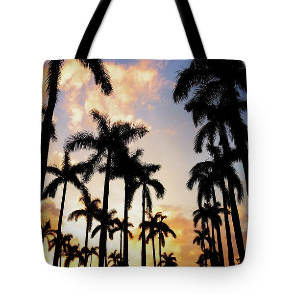 Royal Palm Way Tote Bag