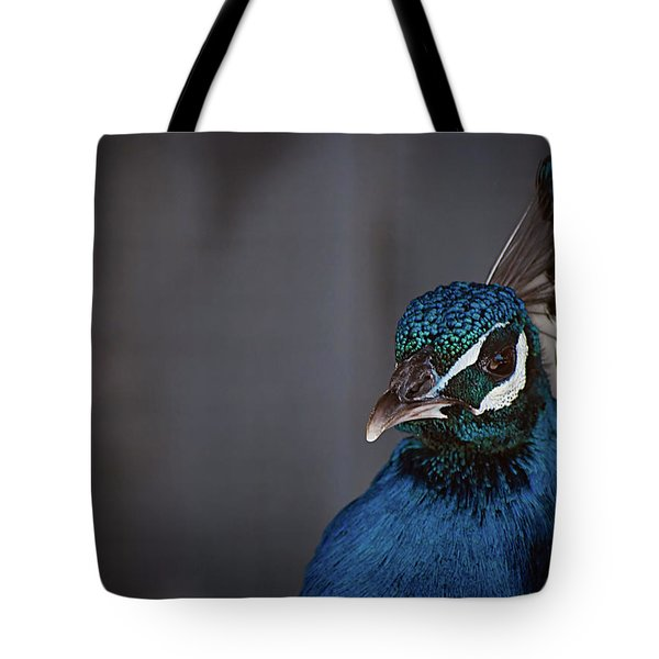Royal Plume Tote Bag